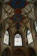 Ceiling in Tewkesbury Cathedral