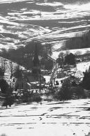 Edensor in winter