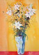 White Lillies Still Life