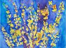 Forsythia Flower Fairies