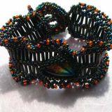 Black/Multi Embellished Cuff