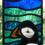 Completed Puffin Panel