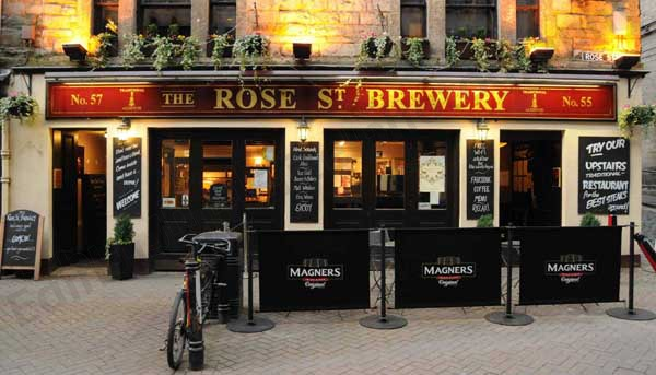 Image result for rose street brewery logo