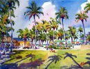 Every Day's A Saturday At The Beach Hotel / Limited Edition of 175 (11 x 15) $56.60  Limited Edition of 50 (16 x 22) $185.00  Limited Edition of 50 (21 x 29) $375.00/