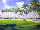 Family Time at the Naples Beach Hotel /-Limited Edition of 175 (11x15) $56.60//-Limited Edition of 50 (21x29) $375.00/