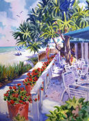 HB's on the Gulf /-Limited Edition of 50 (21x29) $375.00//-Limited Edition of 175 (11x15) $56.60/