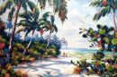 Lover's Key /- Limited Edition of 95 on Canvas (34.5x47) $850.00/