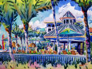 Poolside At The Naples Beach Hotel / Limited Edition of 175 (11 x 15) $56.60  Limited Edition of 50 (16 x 22) $185.00  Limited Edition of 50 (21 x 29) $375.00/