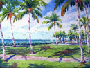 South Lawn at the Beach Hotel /-Limited Edition of 175 (11x15) $56.60//-Limited Edition of 50 (16x22) $185.00//-Limited Edition of 50 (21x29) $375.00/