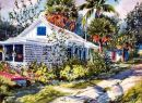 A Tropical Guest House /-Limited Edition of 1000 (11.75x15.25) $36.00/