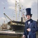 Isambard Kingdom Brunel visits the s.s.Great Britain!