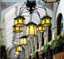 Lamps in the Arcade, Norwich