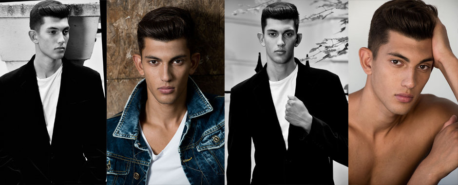 Men's model portfolio shoot - George @ Next Models