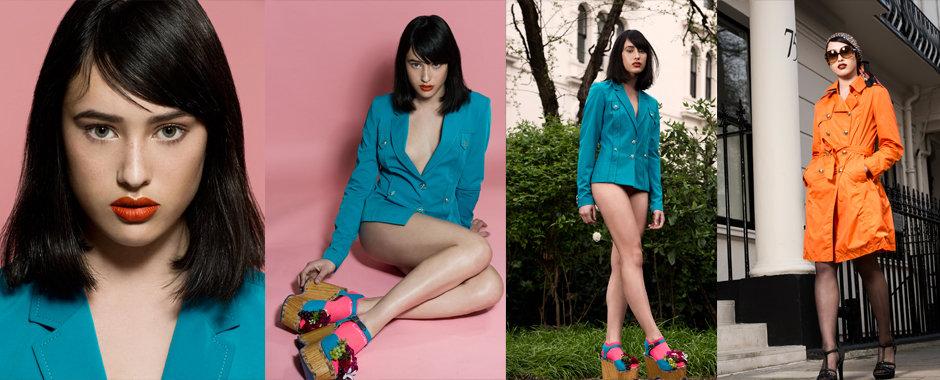 Women's model portfolio - Lydia @ Models1