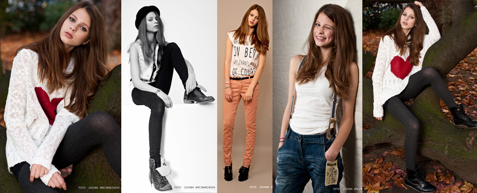 Female model portfolio - Ellie Jackson @ Select Models