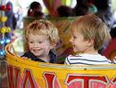 Children at fairground