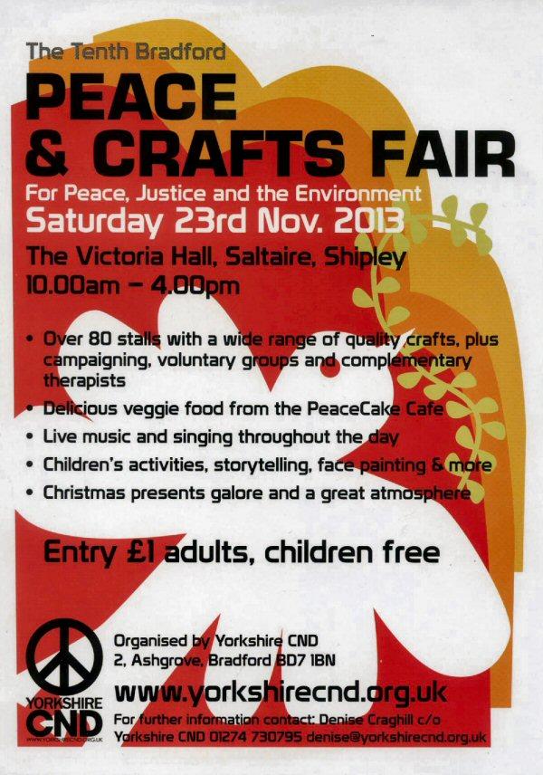 Peace & Crafts Fair