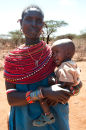 Samburu mother & child
