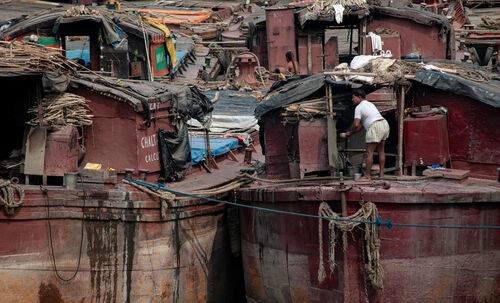 Houseboats, Calcutta