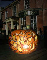 Frances Newton pub Halloween event