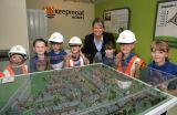 Schools visit to Keepmoat Homes site
