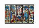 Card: 5 Panel Christmas Window