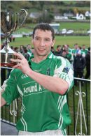 Donal Murphy, Captain of Saval Senior Football Team 2010