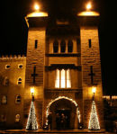 Cabra Castle at Christmas