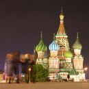 St Basil's At Night