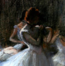 After Degas - Ballet Dancers II
