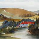 Farmhouse on the South Downs